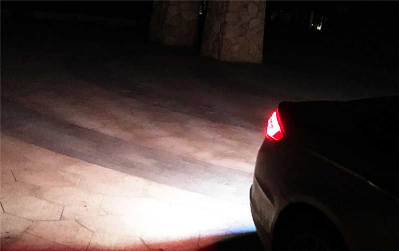 1 sztuk 1156 Led Lights COB 12 żetonów BA15S P21W Auto światło kierunkowskazów światła cofania lampa tylna biały bursztynowy czerwony
