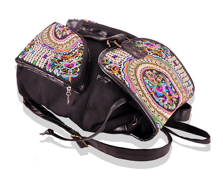 Free Shipping ! Hot wholesale Embroidered shoulder bag embroidered bags one shoulder embroidery women's carrybag holder free shipping wholesale retail sa212 saddle bag motorcycle side helmet riding travel bags rain cover one pair