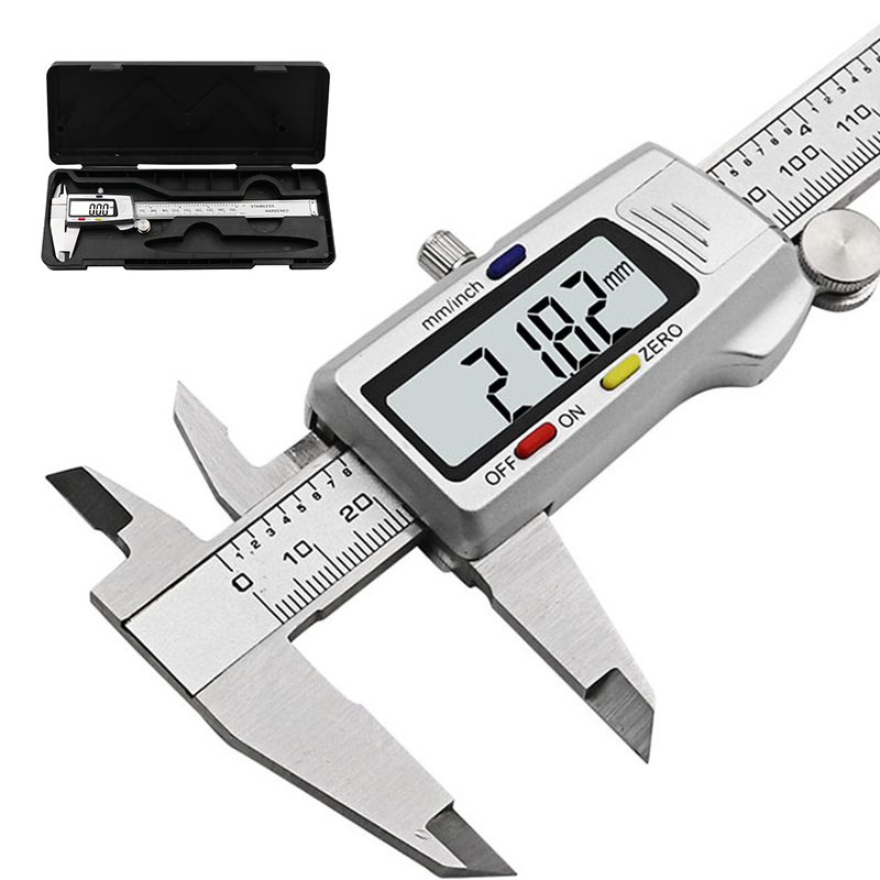 6-Inch 150mm digital calipers Stainless Steel Electronic Digital Vernier Caliper Metal Micrometer Measuring tool CALIPER 150mm electronic digital caliper digital vernier caliper caliper free shipping 31080