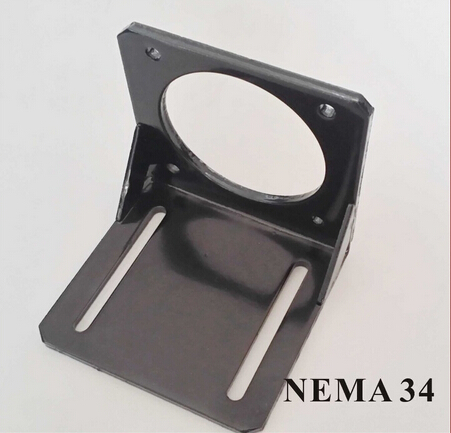 2pcs/lot <font><b>Nema</b></font> <font><b>34</b></font> Bracket Stepper Servo Brushless <font><b>Motor</b></font> <font><b>Mounting</b></font> Seat International Standard Support Holder image