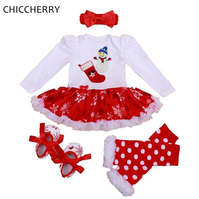 Mi primer disfraz de Navidad Ropa de niña bebé Conjuntos de encaje - Ropa de bebé - foto 2