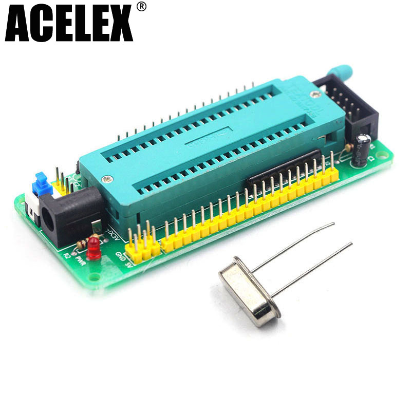 цены 51 avr mcu minimum system board development board learning board stc minimum system board microcontroller programmer