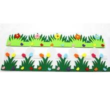 Цветочный забор из войлочной ткани diy бесплатно режущая Милая