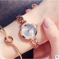 KIMIO Brand Luxury Delicate Gold Stainless Steel Business Crystal Ladies Watches Casual Relogio Feminino Women Quartz