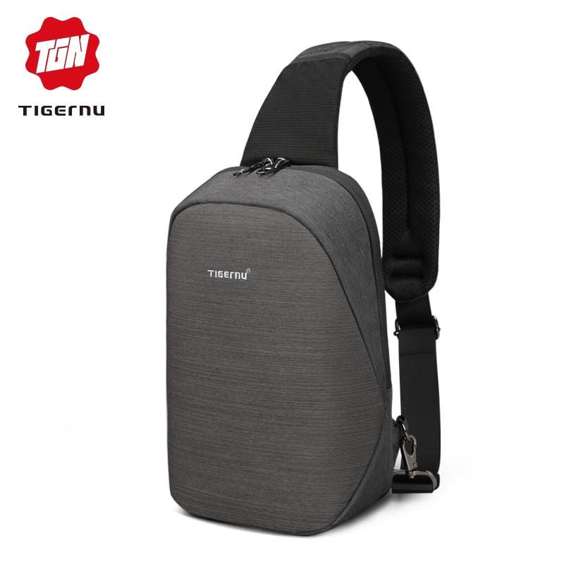 2018 Tigernu High quality Fashion Casual Chest Back Day Pack Travel fashion Cross Body Shoulder Bag цена