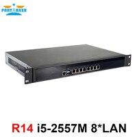 Partaker R14 8 * Intel 82574L гигабитный маршрутизатор ethernet сервер VPN брандмауэр прибор с i5 2557MU процессор