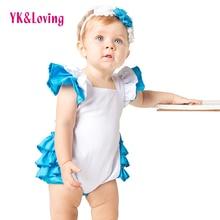 Ruche Barboteuse de Coton pour Enfant Nouveauté Costume Lolita Robe Demoiselle Cosplay Vêtements 2 pcs Outfit Alice au Pays Des Merveilles Conception Originale un