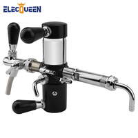 High Quality Beer Bottle Tap de foaming with tap,Stainless Steel Plastic Growler Filler with Adjustable Beer Faucets Remove Foam