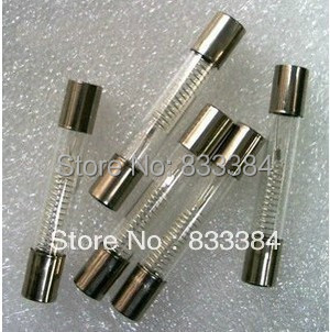 10Pcs 6 x 40mm Axial Glass 750mA 0.75A 5KV Fuse Tubes for Microwave Oven DSUK