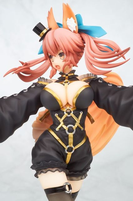 20cm Sexy Fate/EXTRA CCC Caster Tamamonomae Anime Action Figure PVC New Collection figures toys Collection for Christmas gift