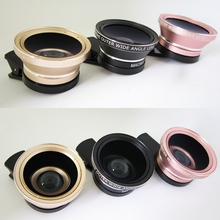 Mobile phone lens - mobile telescope, telephoto, 45X wide angle +12.5X macro 12 times telescope three-in-one lens.LF01-861