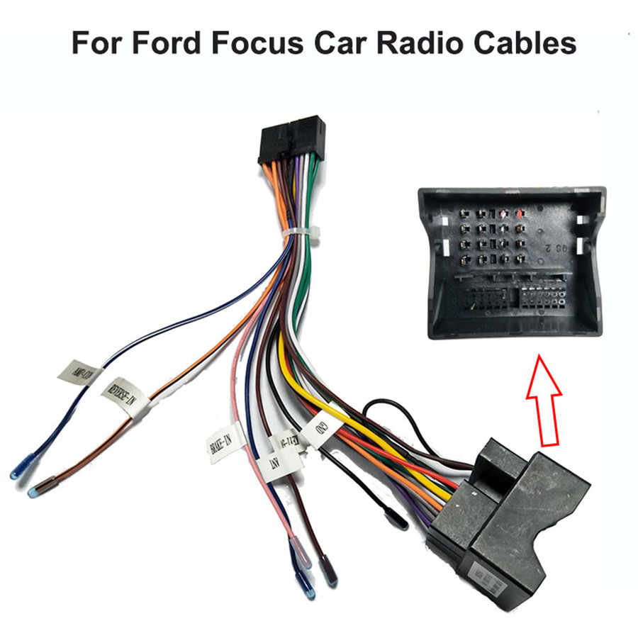 Car Stereo 20 PIN Wiring Harness Connector Adapter Power Cable Harness for Ford  Focus Transit Fiesta| | - AliExpressAliExpress