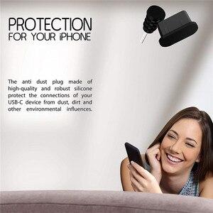10x пылевые заглушки USB C для зарядки отверстия силиконовый Тип C порт защита от пыли разъем для Samsung S9 S8 Huawei
