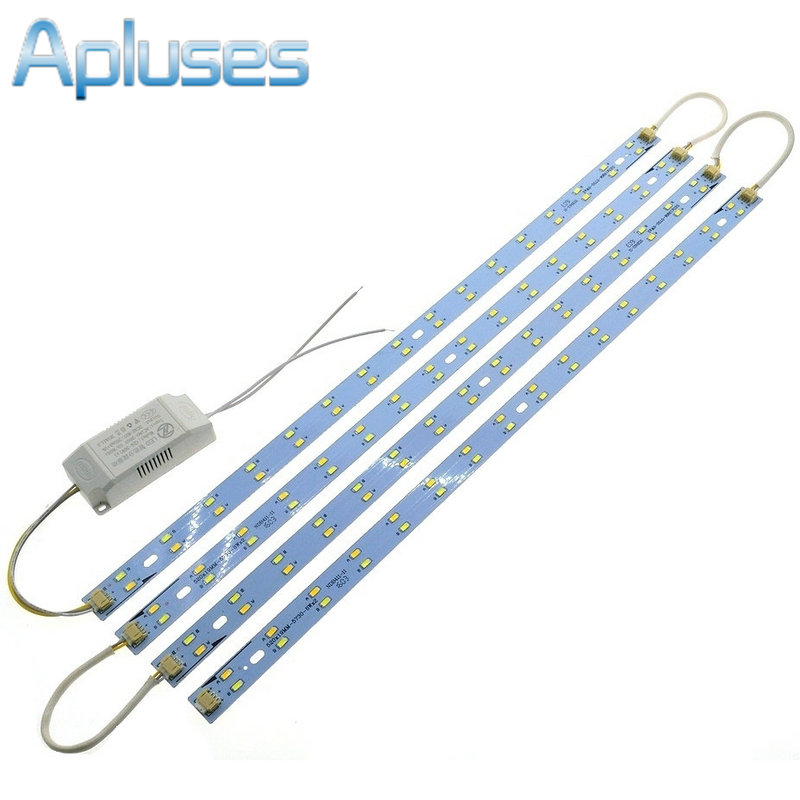 52cm Long 5730 LED Bar Light LED Tube Ceiling Lamp LED Light Source High Brightness With Power Driver Cold White/Warm White