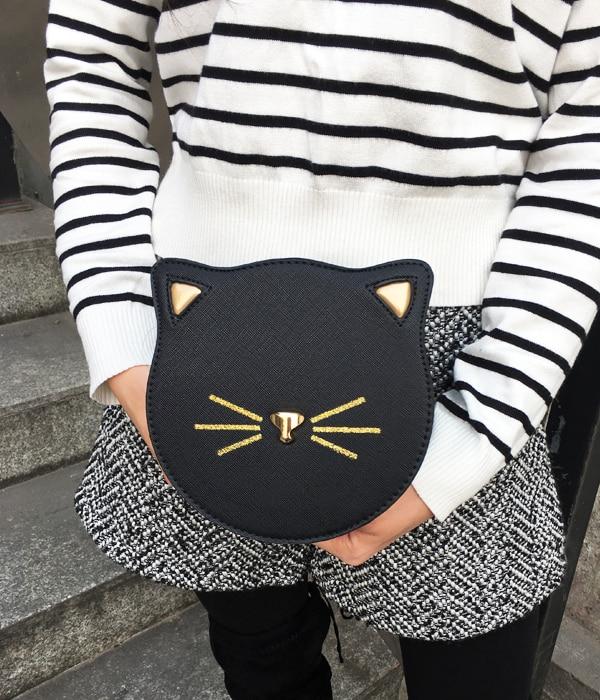 Bolsa Divertida Cara de Gatinho