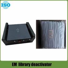 7 Piecelibrary Activator/Deactivator EM: Deactivator Em DemagnetizerสำหรับBook Security Tag 2ฟังก์ชั่นเซ็นเซอร์อินฟราเรด
