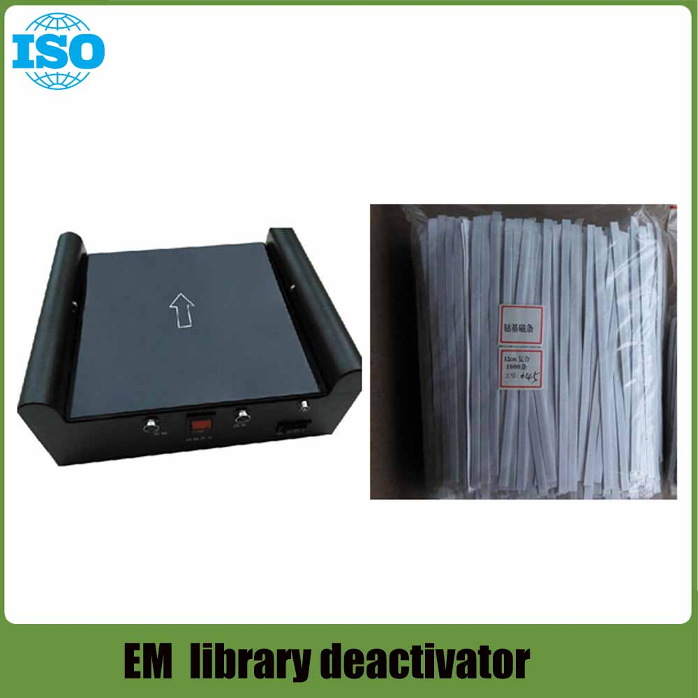 Library Activator/Deactivator EM Tag Deactivator Em Demagnetizer For Book  Security Tag 2 Function With Infrared Sensors