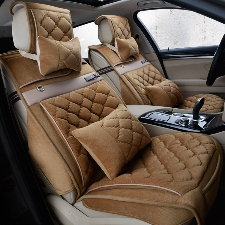 High Quality Car Accessories 8 Pcs Comfortable Leather Seat Cover Universal Size Luxury Covers Free Shippings In Automobiles From