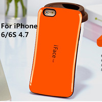 IFace Coque Candy Color Case For Apple IPhone 6 4 7 Inch Hard Fundas TPU PC