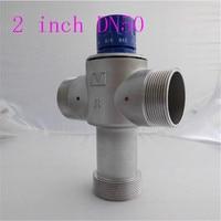 2 inç DN50 termostatik karışım vanası termostatik vana/termostatik sistemi/otomatik sıcaklık kontrol vanası