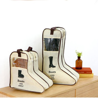 Long Boots Shoes Storage Large Size Travel Bag Household Protector Organizer Visualization Covers Container
