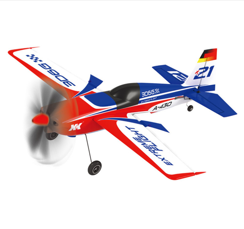 XK A430 Airplane + X6 Transmitter With Brushless Motor 3D6G System 2.4G 5C A 430 Airplane Compatible Futaba S FHSS RTF dron