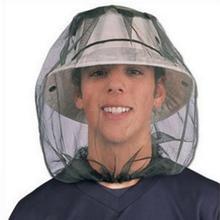 Premium Fishing Caps Mosquito Head Net Mesh Face Protector Cap Insect Bee Sun Fish Hat