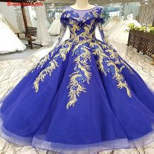 12001 Color Flowers Evening Dress With Short Sleeves