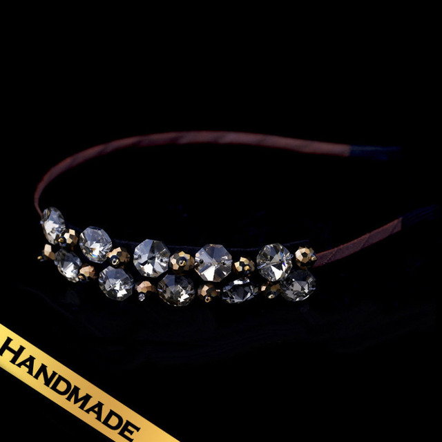 Special Hair Accessories Zircon Vintage Romantic Design Hair bands Free Shipping Jewelry Winter new products FS13A10077