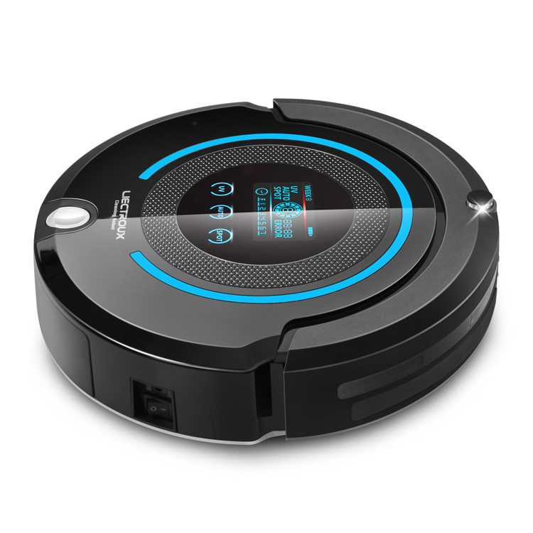 (Russia Warehouse) LIECTROUX A338 Robot Vacuum Cleaner(Sweep,Vacuum,Mop,Sterilize),Schedule,Virtual Blocker,Self Charge цена и фото