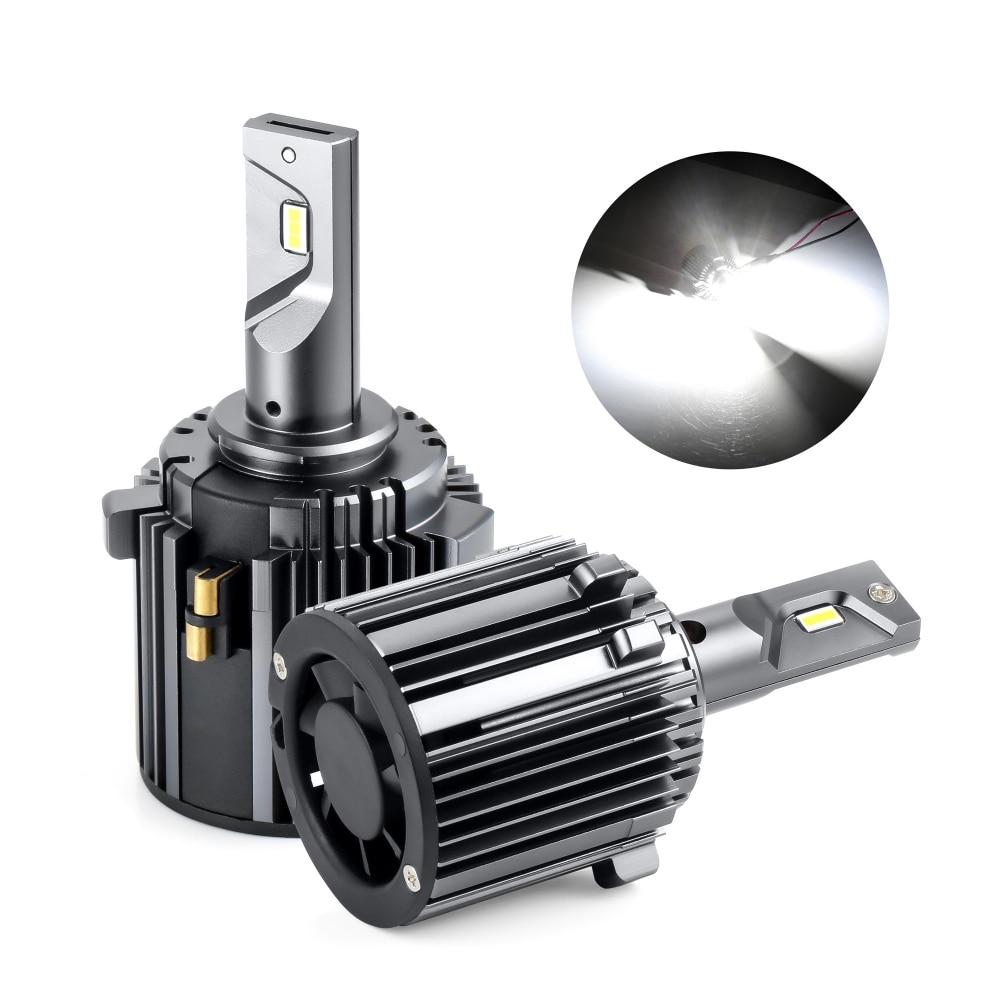 Headlight Bulb For Golf 7 Mk7 White Canbus Error Free Low-beam 60W 7600LM 6000K 12V Waterproof Csp H7 Led