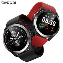 Congdi Z03 smart watch men Blood Pressure Monitor ECG PPG Smartwatch Call Message Remind IP68 Waterproof IOS Android смарт часы все цены