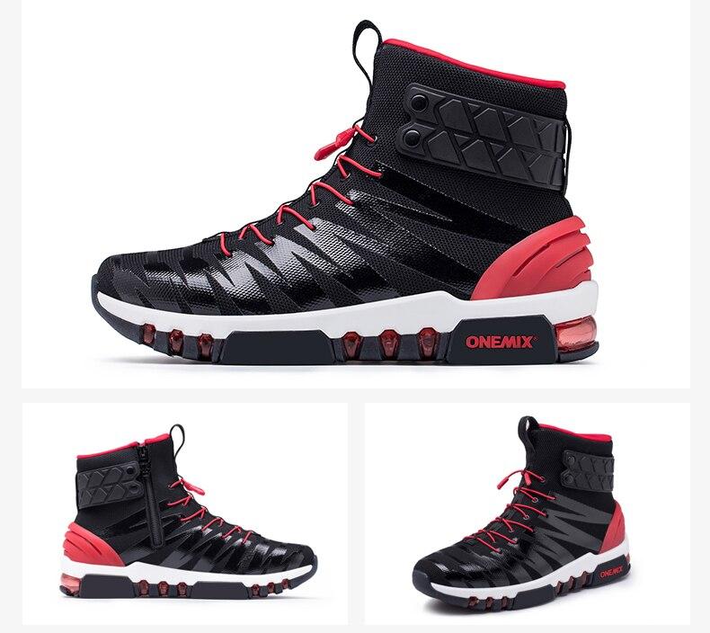 ONEMIX hommes femmes bottes entier paume Air décontracté extérieur 97 Trekking Sport Fitness baskets Max 12 - 3