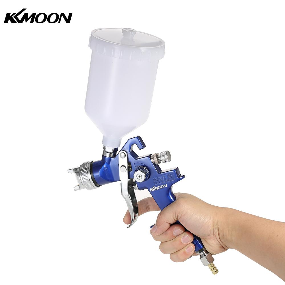1.4/1.7mm Professional HVLP Air Spray Gun Paint Sprayer 600ml Gravity Feed Airbrush Kit Car Furniture Painting Spraying Tool e887g hvlp spray gun set suitable for spraying primer gravity feed with 1 4mm nozzle 600ml pot