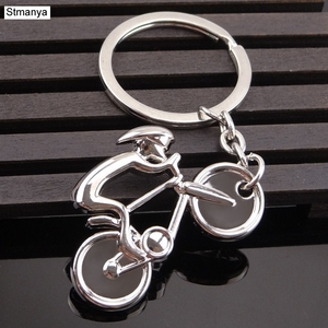 Sale Price Bicycle Model Key Chain - New Design Cool Luxury Metal Keychain Bike Drop Ring Keyring Key Chain For Creative Gift Jewelry 17338 — bequmcmvl