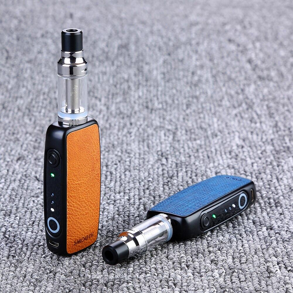 VapeOnly Kit de démarrage lisse intégré 1000 mAh boîtier de batterie MOD & 2 ml réservoir & bouton tactile Vaping E-cigarette Vs Q16 P16A Kit