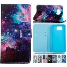 Case For Coque Samsung Galaxy Alpha G850F G850 G8508S Flip Leather Cover Phone Elephant Flower Sky Safflower Capa E23Z