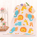 60cm120cm 2016 Baby Bath Towel Infant Towels Baby Accessories 2 Layers Cotton Newborn Free Shipping