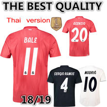 71bfb9653bae9 AAA best quality 2018 Real Madrid Champions soccer jersey18 19 adlut soccer  jersey football shirt Realed 2019 Men size S-XXL