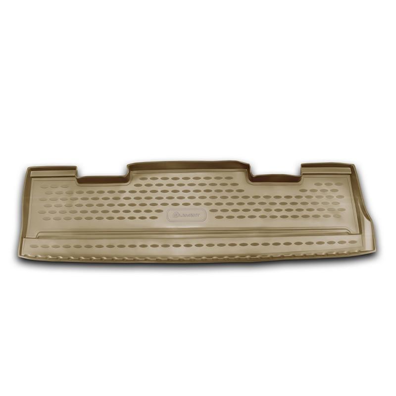 Mat trunk For CADILLAC Escalade 06/2006-2015, внед. (polyurethane, beige) mat trunk for cadillac escalade 01 2015 внед lengths 1 pcs polyurethane beige