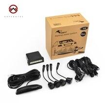 100% Original Steelmate Car Parking Assist System Ebat C2 Parking Sensor Reverse Radar LED Display with 4 Sensors
