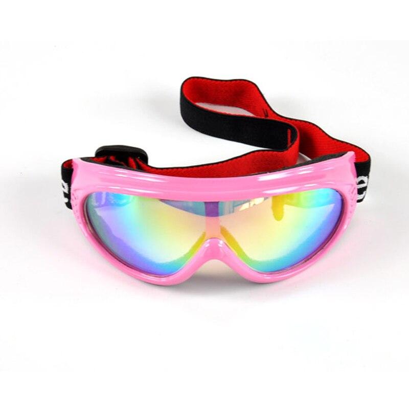 Детские лыжные очки снежные лыжные очки 6 видов цветов Солнцезащитные очки ветрозащитные очки lunette de лыжные очки уличные ветрозащитные