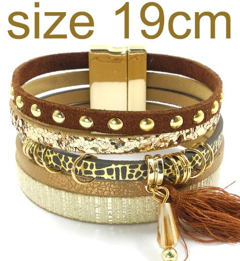 brown size 19CM