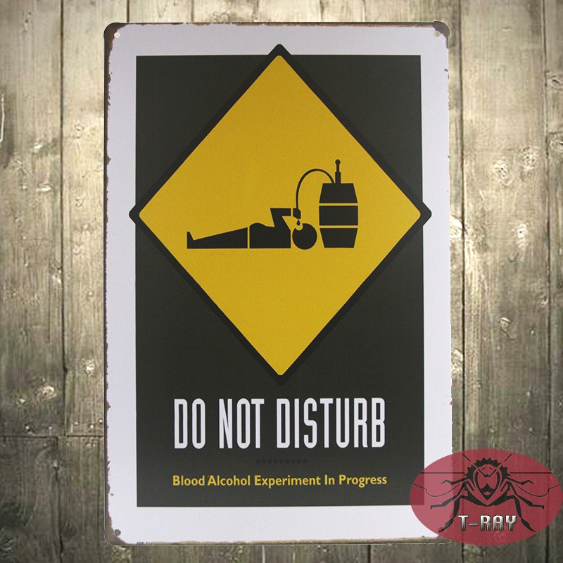 DO NOT DISTURB Vintage TIN Signs iron Poster art Wall Decor hanging  Painting H 11. Hanging Bathroom Sign Reviews   Online Shopping Hanging Bathroom