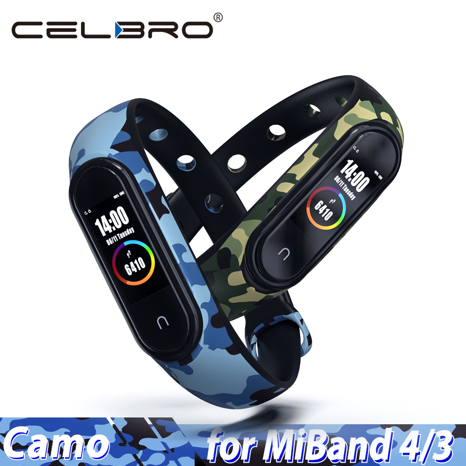 Camouflage Wristband Bracelet Detachable-Wrist-Strap Soft-Silicone Xiaomi for 3
