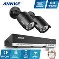 ANNKE 4CH 960 H HDMI CCTV Sistema de 4 canais DVR com 2 pcs 720 P IR Ao Ar Livre Câmera de Vigilância de Segurança Em Casa Sistema de E-mail alerta
