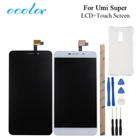 Umi Super LCD Display And Touch Screen Original Screen Digitizer Assembly Replacement Tools And Plastic Case