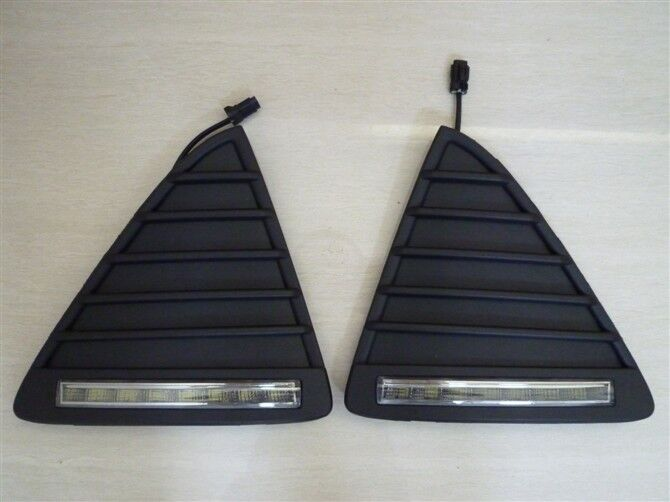 1 pair Newest dedicated 8LED daytime running light case for Ford Focus 2012, LED fog lights, 8LED DRL Free shipping TTT