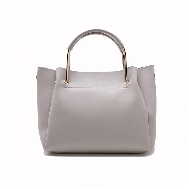 Tote Bags For Women HandBags 2017 Fashion Style Black Shoulder Bag Set Lady Luxury PU Leather Composite Bag Vento Marea