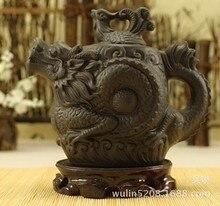2015 neue Ankunft Porcelana Teekanne Topf 530 ml Drachen Tetera Authentische Große Kapazität Ton Tee-Set Wasserkocher Kung Fu Chinesischen keramik